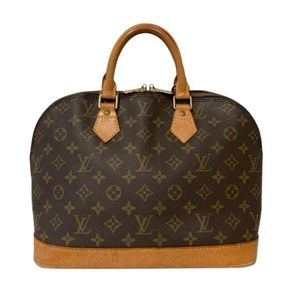Louis Vuitton Monogram Alma PM Satchel Tote